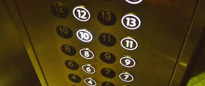 carteles en ascensores