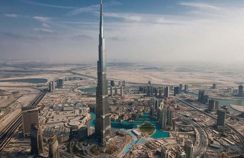 Ascensores del Burj Khalifa