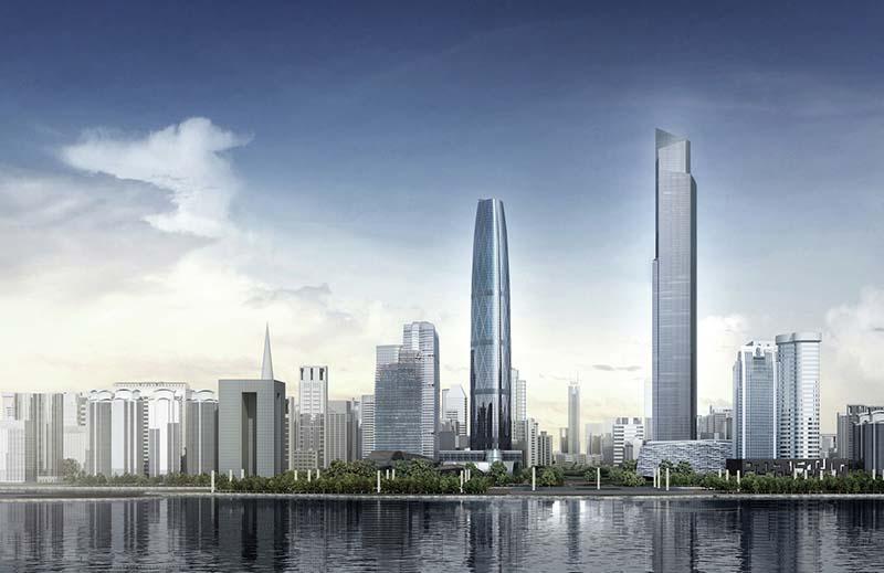 Ascensores del CTF de Guangzhou
