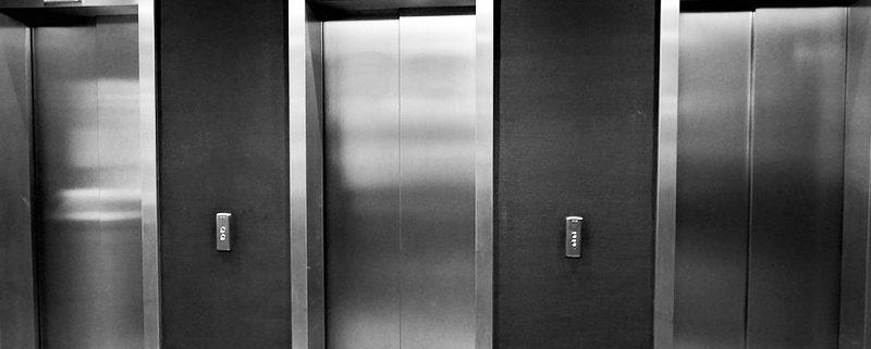 espacio del ascensor
