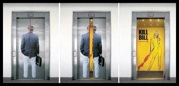 ideas creativas para ascensores
