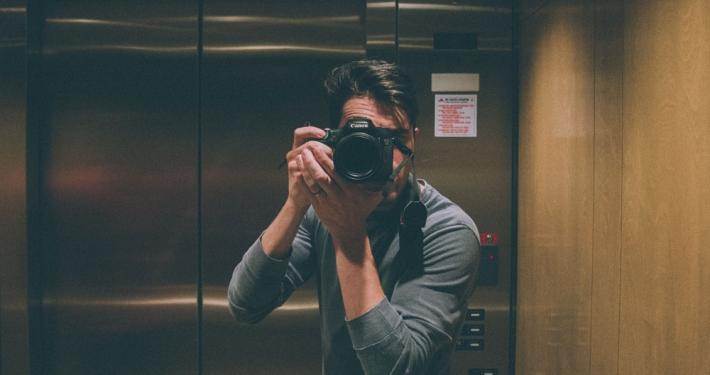 espejos en ascensores