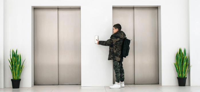 averías en el ascensor