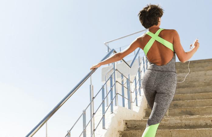 ejercicio escaleras
