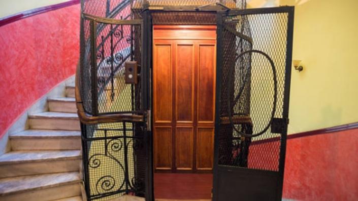 primer ascensor de España