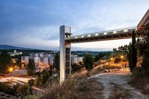 Ascensor urbano en Echavaoiz (Pamplona)
