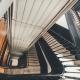 Escalera de edificio