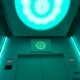 ascensor luces verdes